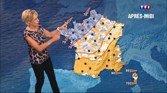 Carte Meteo Tf1.Bfmtv A T Elle Copie Les Cartes Meteo De Tf1 La Chaine