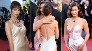Cannes 2017 : Emily Ratajkowski et Bella Hadid ultra complices au festival (PHOTOS)