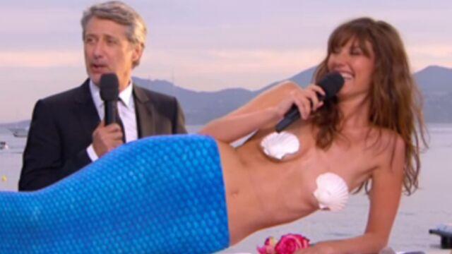 En sirène ou avec Nicolas Bedos, la sexy Doria Tillier chauffe la Croisette (VIDÉO)