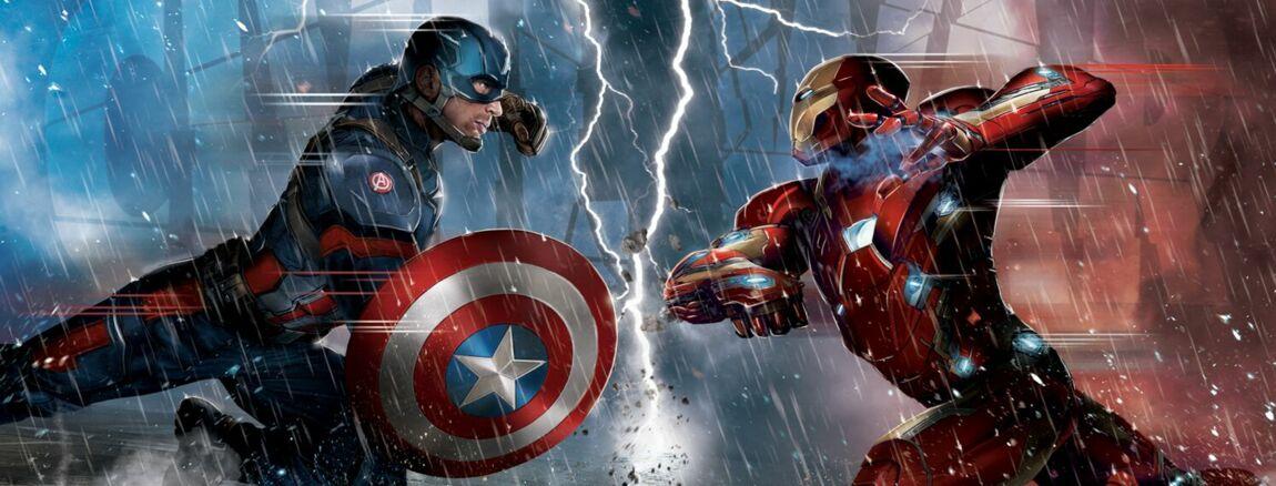Découvrez la bande-annonce de Captain America : Civil War    version