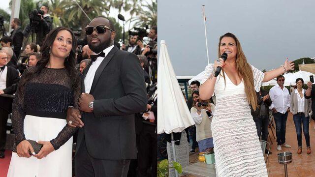 Cannes 2016 : Maître Gims et sa femme sur red carpet, la soeur de Cristiano Ronaldo pousse la chansonnette