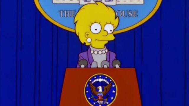 En 2000, Les Simpson avaient imaginé la victoire de Donald Trump