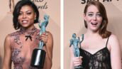 Décolleté plongeant pour Taraji P. Henson, dentelle pour Emma Stone... Les meilleurs look de la cérémonie des SAG Awards (PHOTOS)