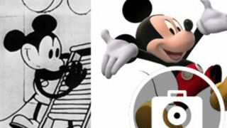 Joyeux Anniversaire Mickey, ses évolutions physiques de 1928 à aujourd'hui (11 PHOTOS)