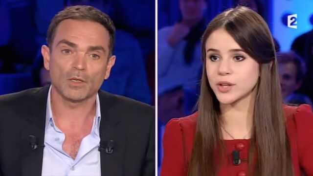 On n'est pas couché : Yann Moix rembarré par Marina Kaye (VIDEO)