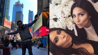 Instagram : Kev Adams à New York, Kim Kardashian rencontre son sosie... (42 PHOTOS)