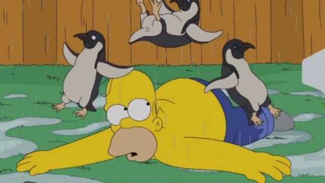 Homer Simpson participe au Ice Bucket Challenge (VIDEO)