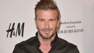 David Beckham publie une photo de sa fille Harper... qui se prend pour une sirène (et c'est trop chou)