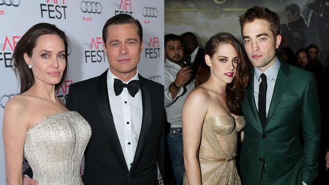 Angelina Jolie et Brad Pitt, Kristen Stewart et Robert Pattinson... : quand les couples star se séparent (20 PHOTOS)