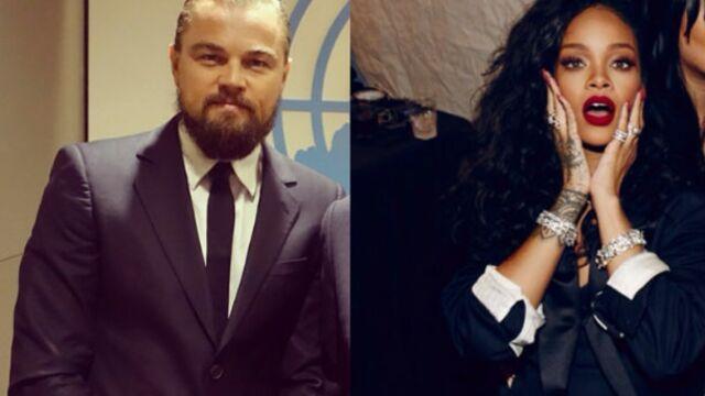 Rihanna/Leonardo DiCaprio : le couple de l'année ? (PHOTOS)
