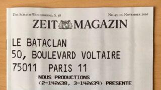 Une du Die Zeit : l'émouvant hommage du magazine allemand aux victimes du Bataclan (PHOTO)