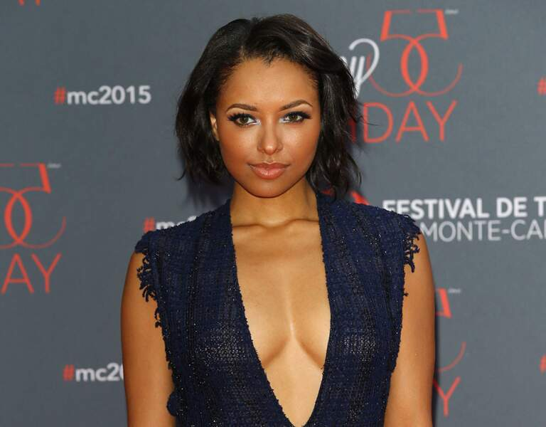 Kat Graham (Vampire Diaries), on la croquerait bien !