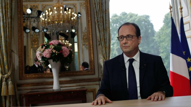 Interview du 14 juillet : François Hollande face à Claire Chazal et David Pujadas