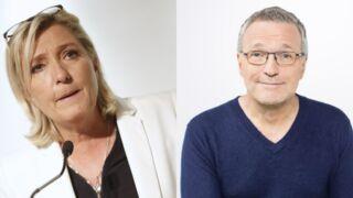 """Marine Le Pen a gagné son procès contre Laurent Ruquier, qui la comparait à un """"étron"""" dans ONPC"""