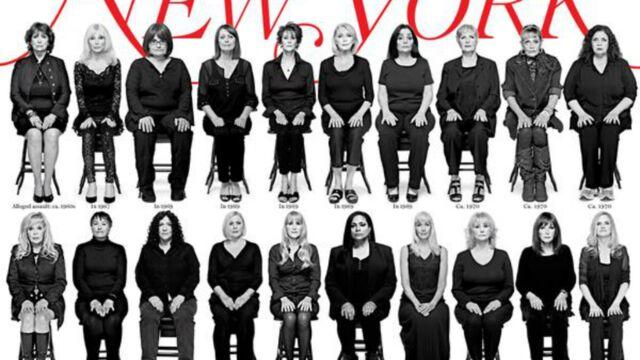 Bill Cosby accusé de viol : 35 femmes en Une du New York Magazine