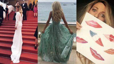 Cannes 2016 : Caroline Receveur glamour, La Reine des neiges sur la Croisette ?... Les people sur Instagram (17 PHOTOS)