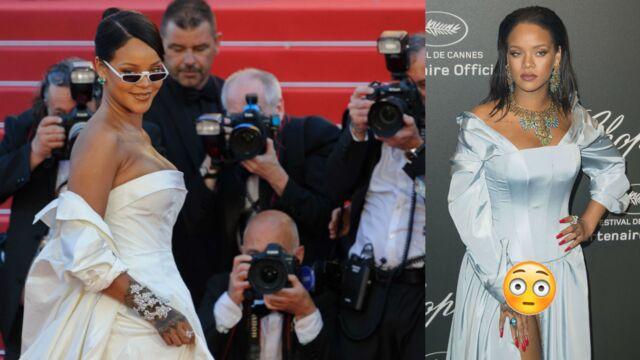 Cannes 2017 : Après les marches, Rihanna montre sa culotte à la soirée Chopard ! (35 PHOTOS)