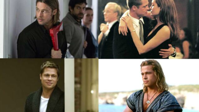 Brad Pitt : d'auto-stoppeur sexy à chasseur de zombies (PHOTOS)