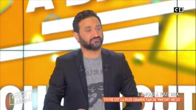 Au bord des larmes, Cyril Hanouna ému par une surprise dans Dites-le à Baba (VIDEO)
