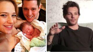 Carnet rose pour Michael Bublé et Louis Tomlinson des One Direction