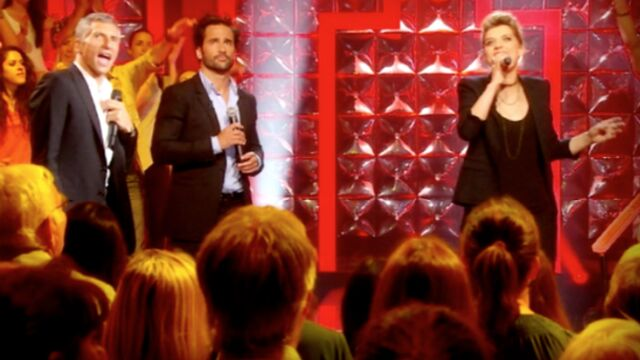 Nagui fait chanter les VIP sur France 2 (VIDEO)