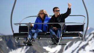 Emmanuel et Brigitte Macron : tendres moments à la neige ! (8 PHOTOS)