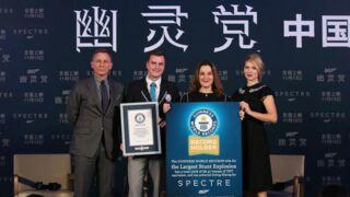 James Bond : Spectre entre déjà dans le Guinness book des records