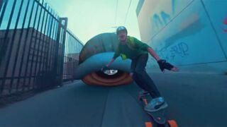Buzz. Mario Kart version skate et dans la vraie vie... la vidéo très réussie à ne pas rater !