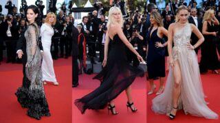 Cannes 2017 : Eva Green reine du glamour, Karolina Kurkova prend la pose... La montée des marches du film de Roman Polanski (PHOTOS)