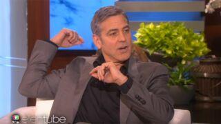 George Clooney raconte sa drôle de demande en mariage sur le plateau d'Ellen DeGeneres
