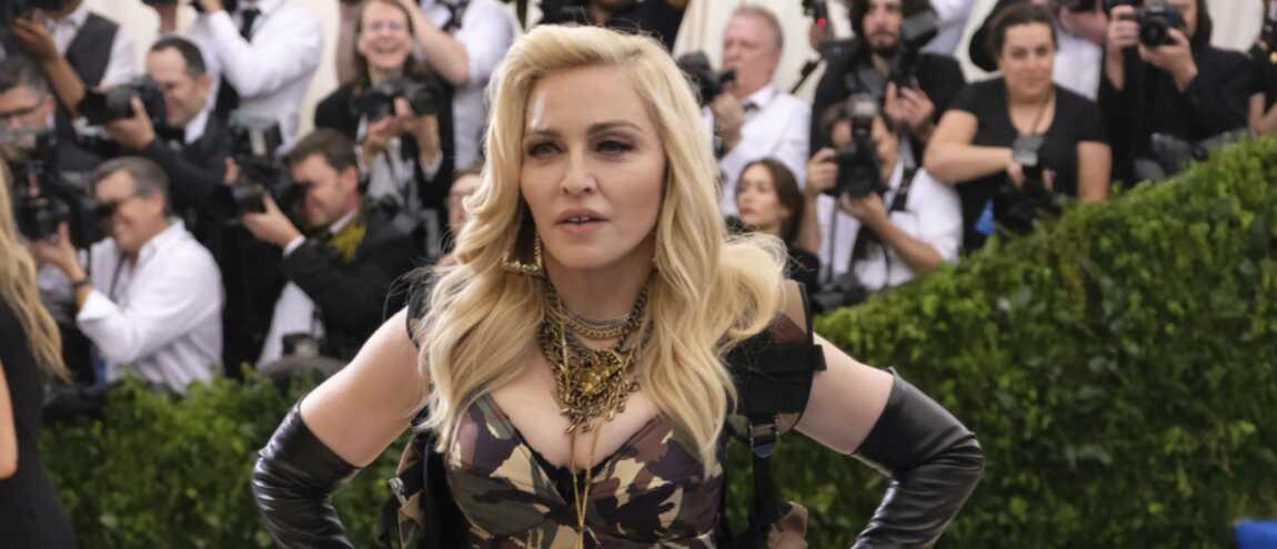 dcc4456c225 MET gala   découvrez l impressionnant avant après maquillage de Madonna  (PHOTOS)