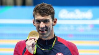 Jeux olympiques : des adieux en or pour Michael Phelps