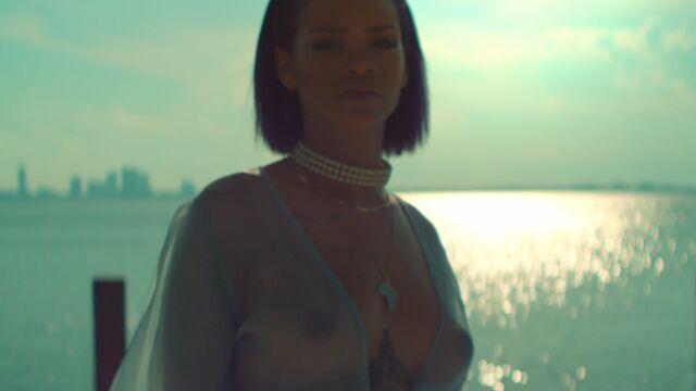 Le clip de la semaine : Needed Me avec Rihanna seins nus (VIDEO)