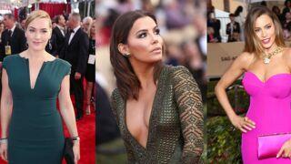 SAG Awards 2016 : Eva Longoria, Sofia Vergara, Kate Winslet, Leonardo DiCaprio... Sexy sur le tapis rouge (25 PHOTOS)