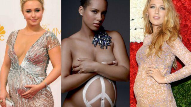 Blake Lively, Alicia Keys, Hayden Panettiere, Charlène… enceintes et radieuses (PHOTOS)