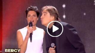 L'énorme vent d'Alessandra Sublet à Serge Lama (VIDÉO)