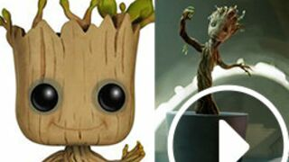 Les Gardiens de la galaxie : Baby Groot devient un jouet ! (VIDEOS)