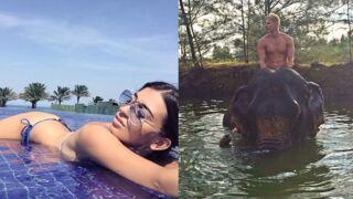 Instagram : Martika sexy en bikini, Matthieu Delormeau à dos d'éléphant… (30 PHOTOS)