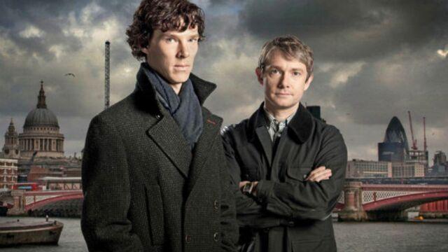 Sherlock revient à l'antenne et à la vie (VIDÉO)