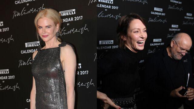 Nicole Kidman et Uma Thurman fêtent la sortie du calendrier Pirelli à Paris (17 PHOTOS)