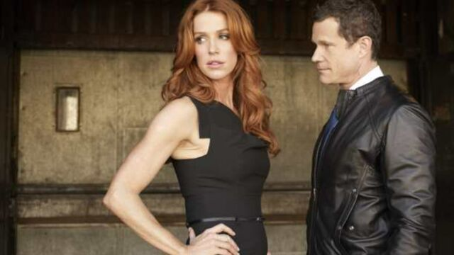 Poppy Montgomery et Dylan Walsh, couple star de Unforgettable sur TF1