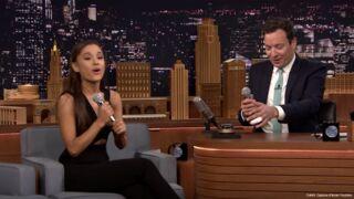 Ariana Grande imite Britney Spears, Christina Aguilera et Céline Dion chez Jimmy Fallon