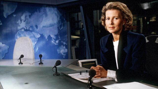 C'était l'été 1991... Claire Chazal présentait son premier JT sur TF1 !