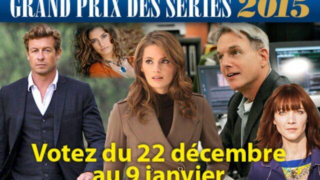 Grand Prix des séries 2015 : Alice Nevers, Castle, Profilage, vos grands gagnants !