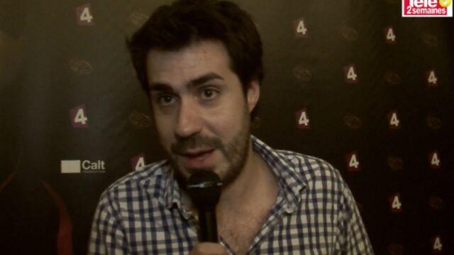 """Simon Astier : """"Dans la saison 4 de Hero Corp, les méchants ont pris le pouvoir"""" (VIDEO)"""