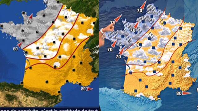 BFMTV a-t-elle copié les cartes météo de TF1 ? La chaîne info répond
