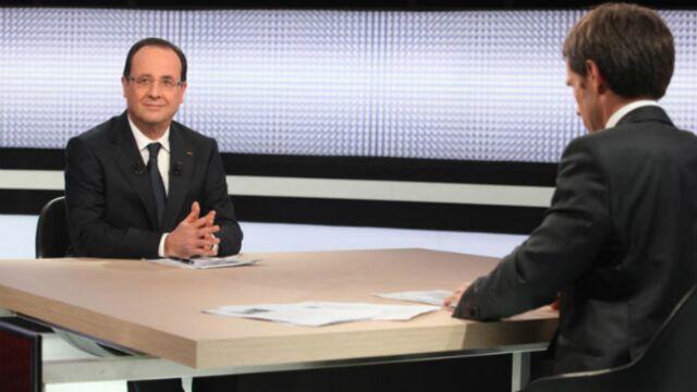 Huit millions de téléspectateurs pour François Hollande sur France 2