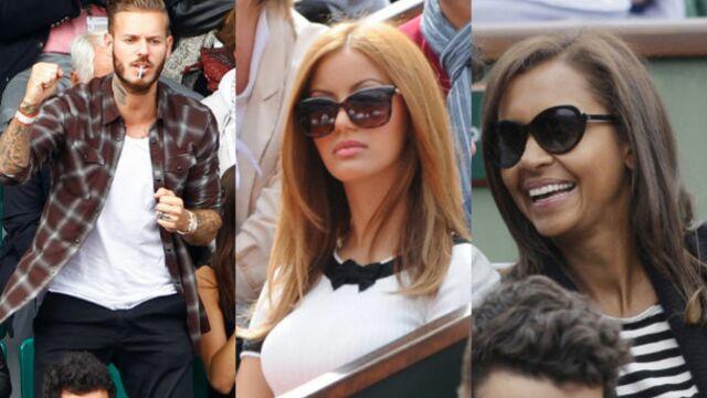 Zahia, M. Pokora, Karine Le Marchand... Jet, set et match à Roland-Garros ! (PHOTOS)