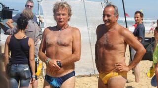 Tournage de Camping 3 avec Franck Dubosc : tous en slip à Biscarosse ! (14 PHOTOS)