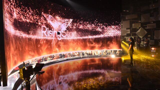Le mur de Rising Star tombe en panne en direct !
